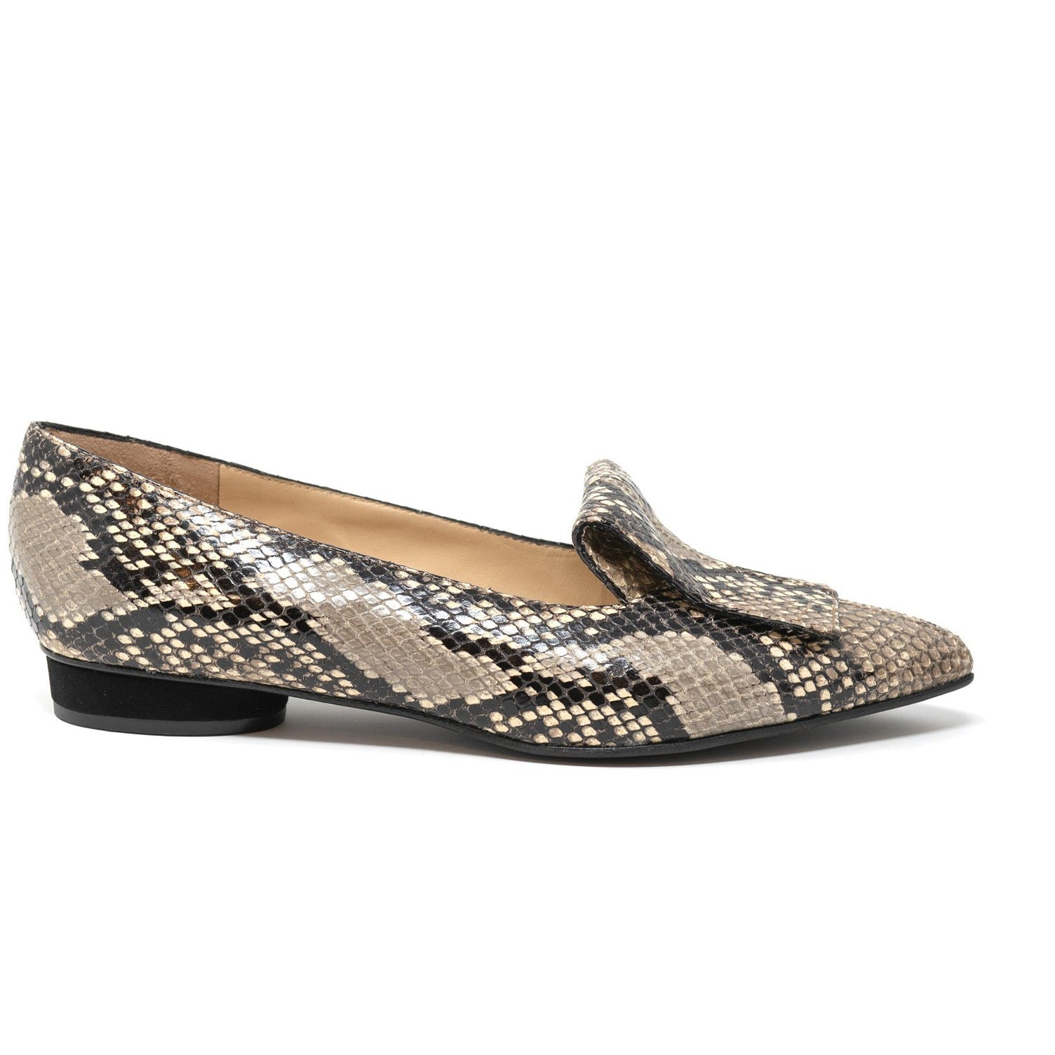 MIL8201 T10 Women Leather Flats - Jennifer Tattanelli