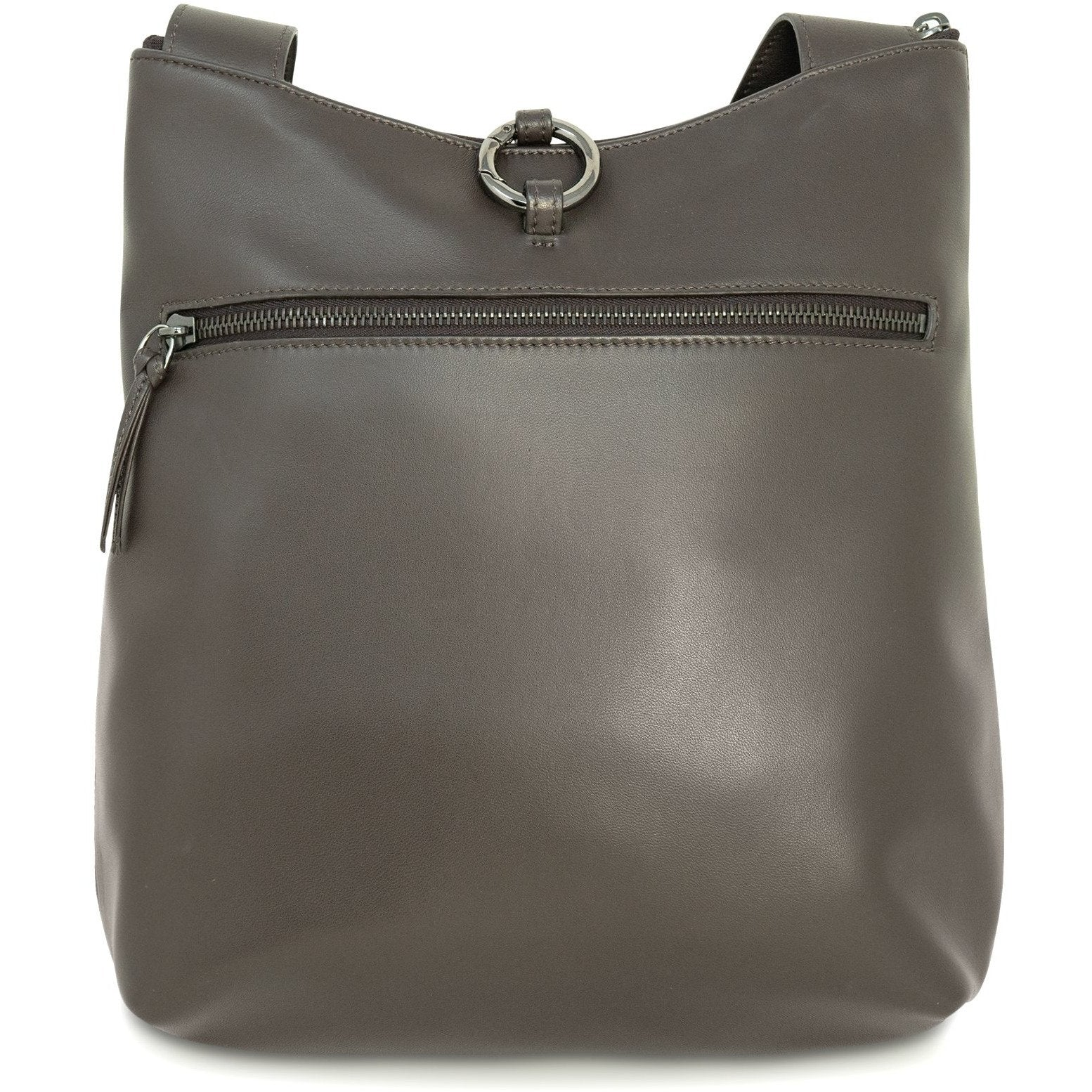 GINGER Women Intrecciato Leather Crossbody Bag - Jennifer Tattanelli