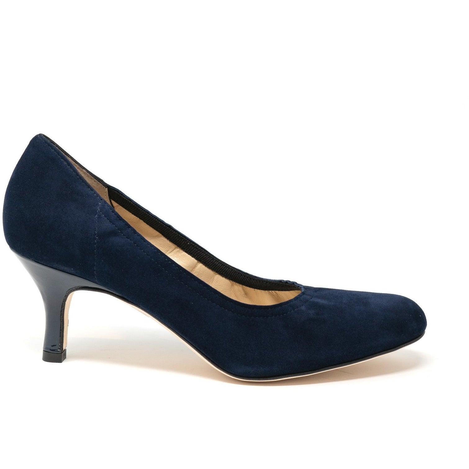 MIL461 55T Women Leather Pumps - Jennifer Tattanelli
