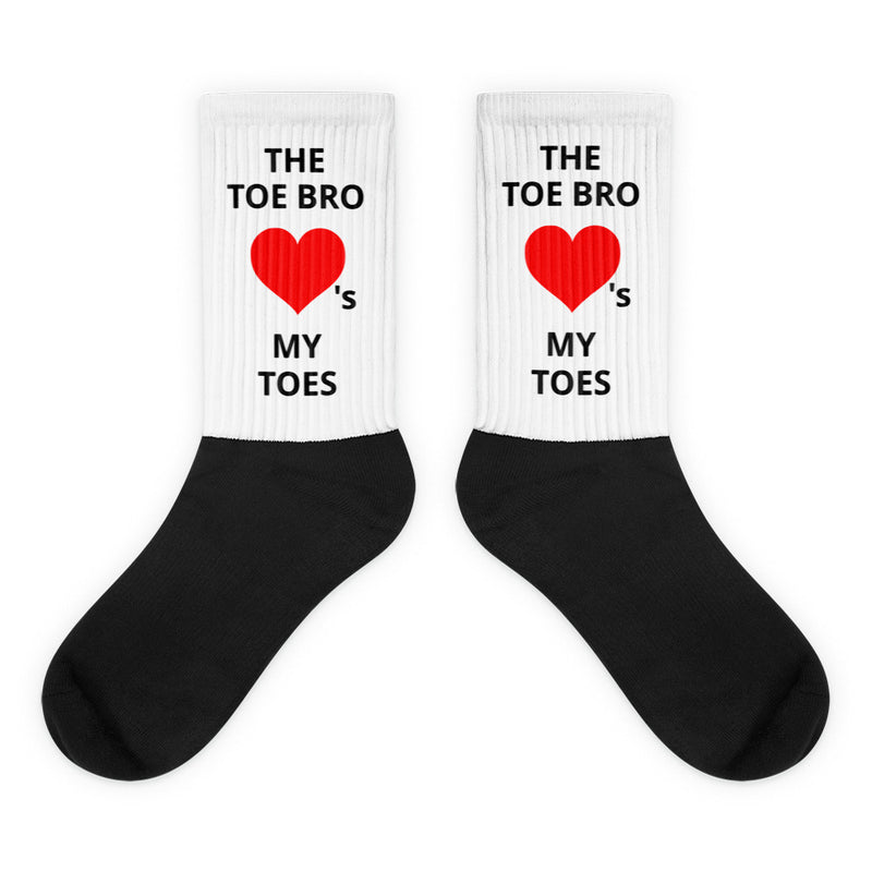 "The Toe Bro ""Loves My Toes"" Socks"