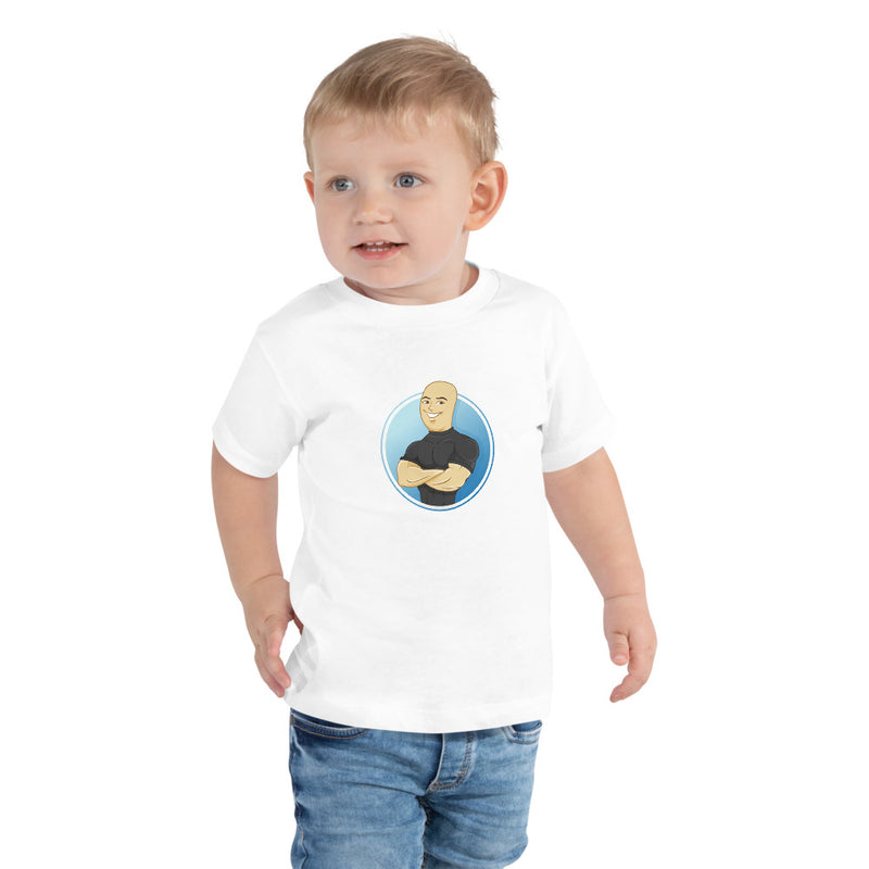"""The Baby Bro"":  Classic Toddler Tee"