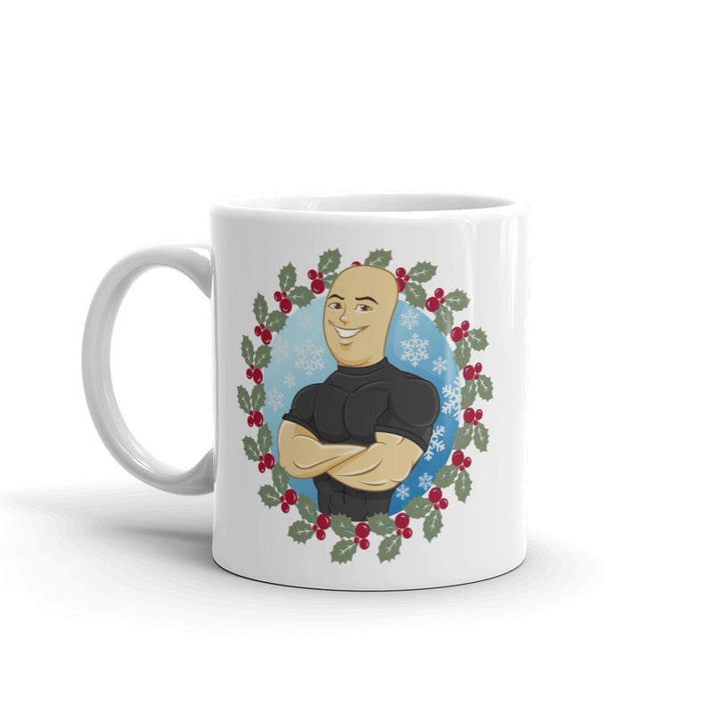 THE HOLIDAY EXCLUSIVE 'MISTLE-TOE' MUG