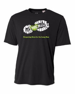 Let Me Run Dri-Fit Program Shirt - Black - Official Fall 2018 Shirt