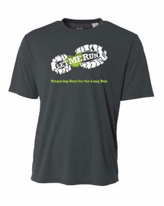 Let Me Run Dri-Fit Program Shirt - Graphite