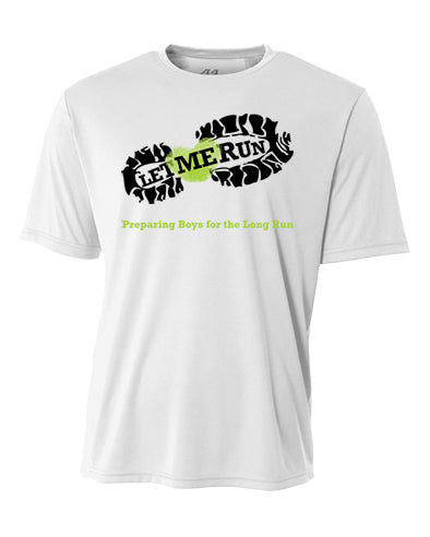 Let Me Run Dri-Fit Program Shirt - White
