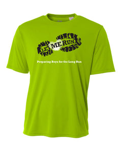 Let Me Run Dri-Fit Program Shirt - Green