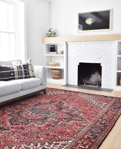 History of Heriz Rugs