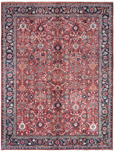 Antique Persian Sarough Mahal Rug handmade area rug Shop Tapis