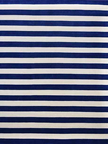 Aura Stripe Blue Rug Sale Shop Tapis