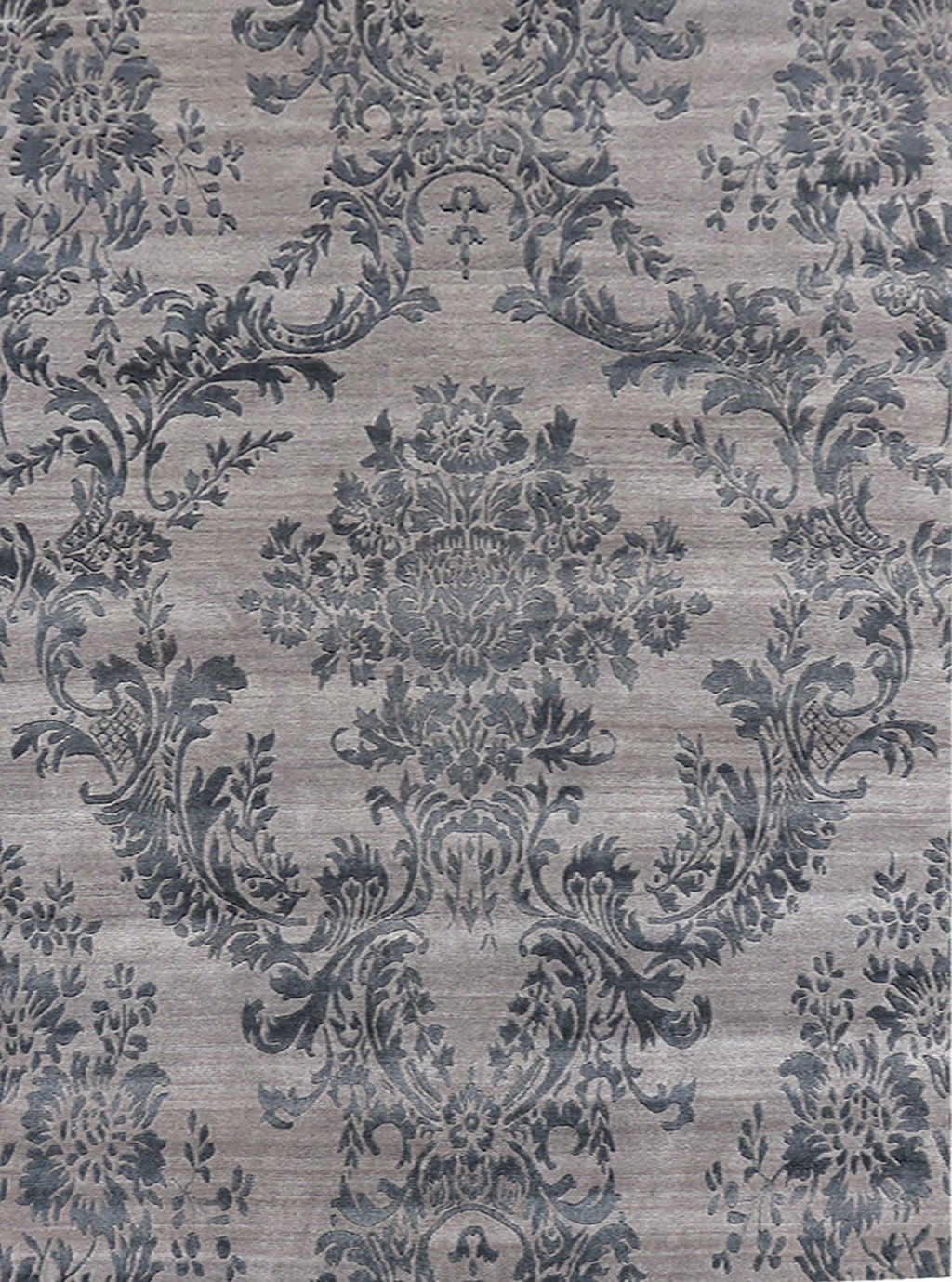 Damask Composition Rug Modern Shop Tapis