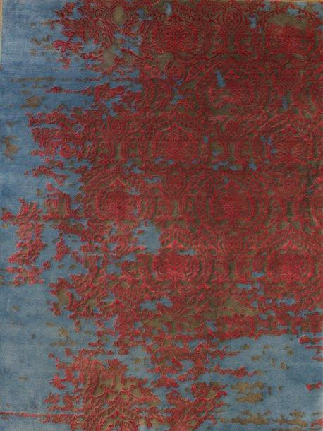 Erase Vibrant Rug Transitional Shop Tapis