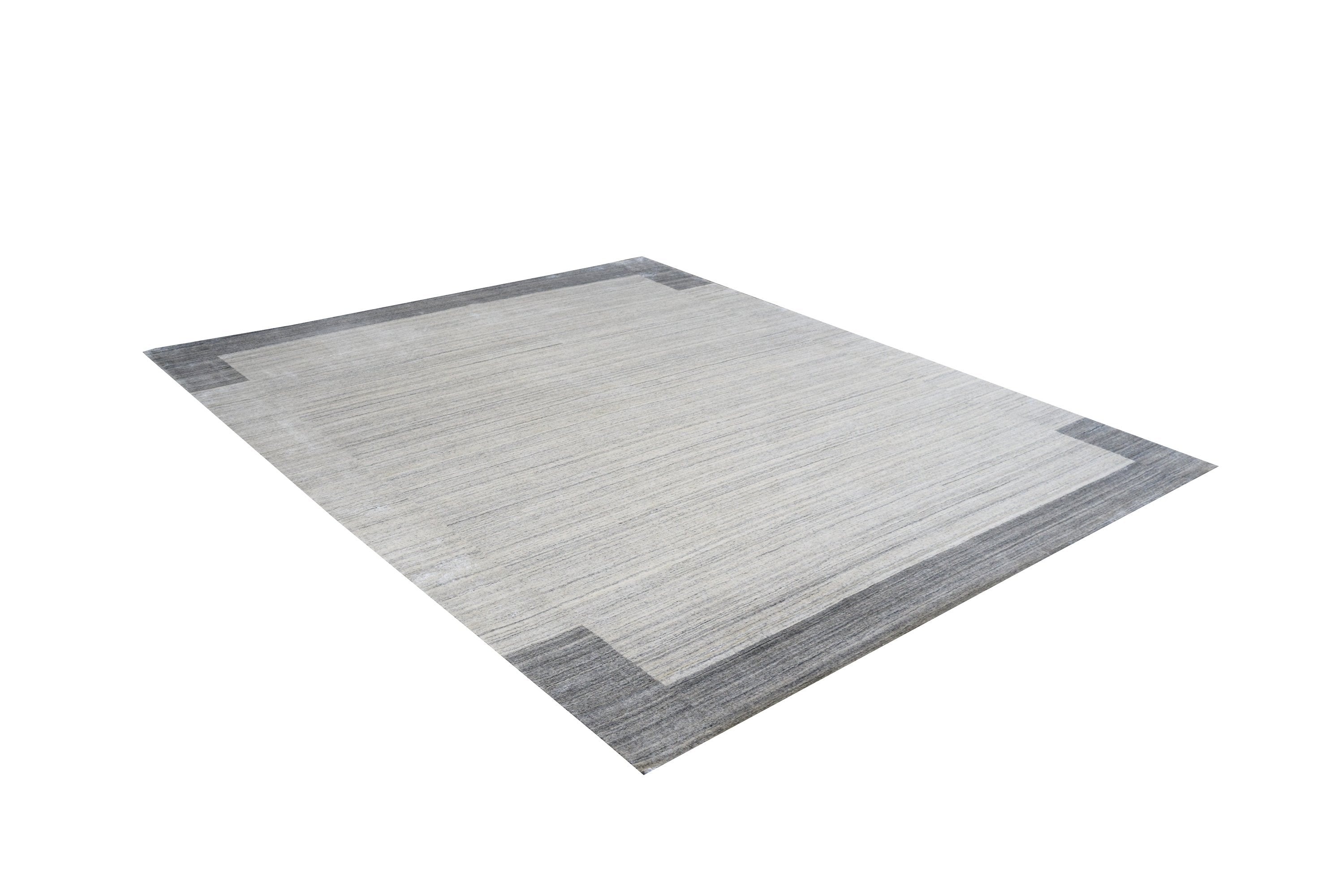 Gabbeh Light Grey Rug Modern Shop Tapis 6 X 9