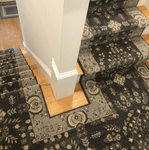 Grand Parterre Sarouk Border Stair Runner runner Shop Tapis