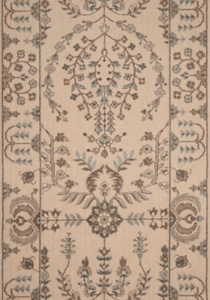 Grand Parterre Sarouk Border Stair Runner runner Shop Tapis Shell 30""
