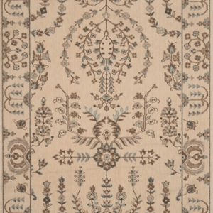 Grand Parterre Sarouk Border Stair Runner runner Shop Tapis Shell 41""