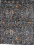 Mamluk Charcoal Rug Transitional Shop Tapis