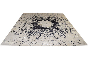 Nepali Star Fire Rug Modern Shop Tapis