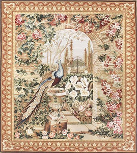 Peacock Tapestry Rug handmade area rug Shop Tapis