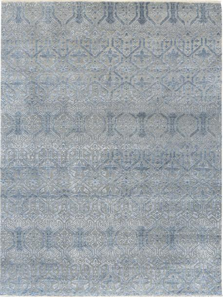 Pearl Silvery Blue Rug Transitional Shop Tapis