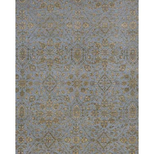 Pearl Tufts Blue Rug Transitional Shop Tapis