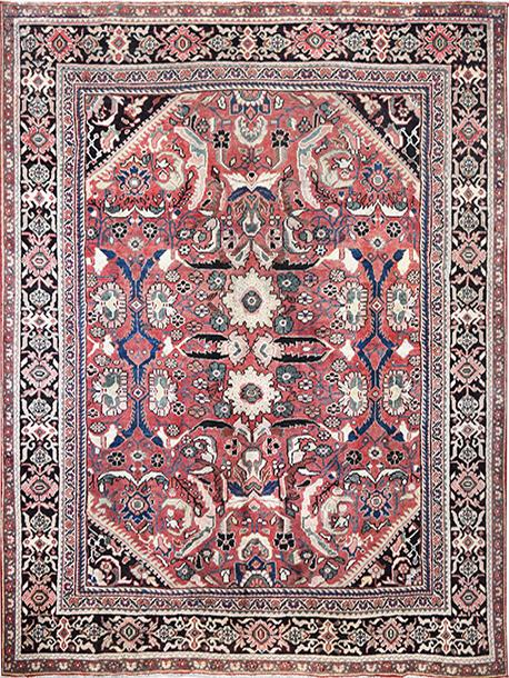 Persian Sarough Mahal Rug Shop Tapis