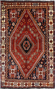 Persian Shiraz Rug handmade area rug Shop Tapis