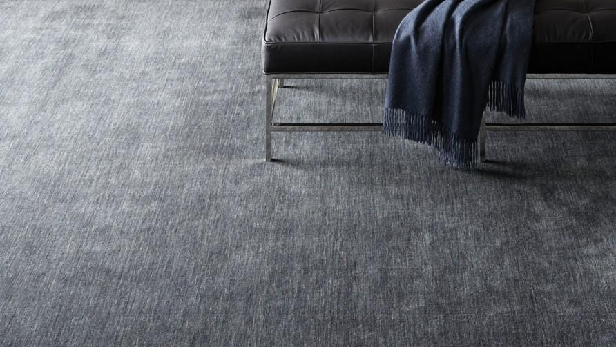 Rae Handwoven Wool Grey Rug Modern Shop Tapis