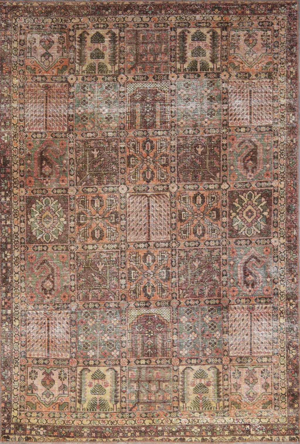 Second Life Bakhtiari Rug Transitional Shop Tapis