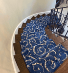 Somerset Scrollwork Stair Stair Runner & Broadloom runner Shop Tapis