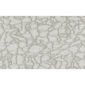 Una Crystalline Beige/Grey Commercial Broadloom Shop Tapis Off white