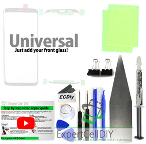 Universal Front Screen Glass Repair Kit (Just add a front glass!)