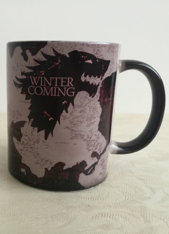 Game of Thrones House Stark heat Activated Mug