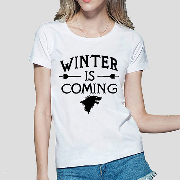 Womens Game of Thrones Winter is Coming Tee