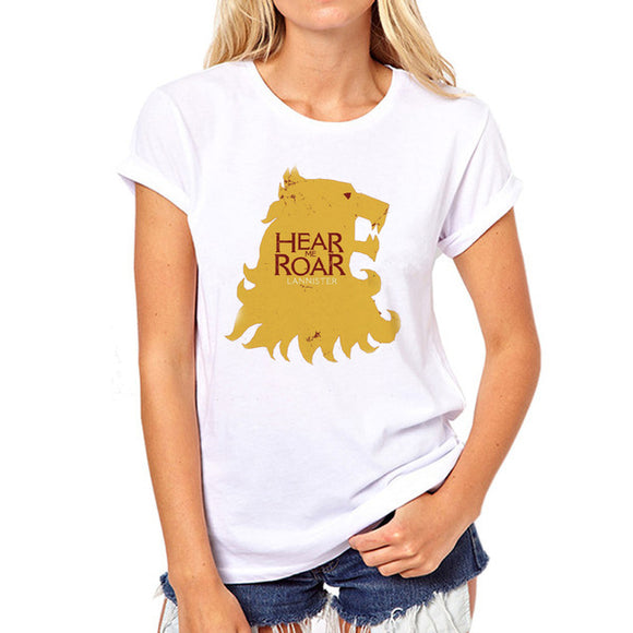 Womens Game of Thrones House Lannister Tee