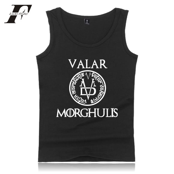 Mens Valar Morghulis Tank Top