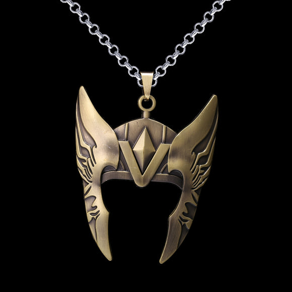 Marvel Thor Helmet Necklace