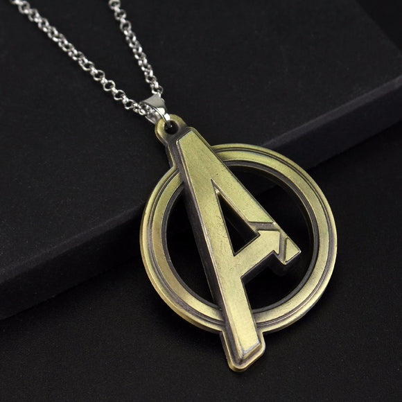 Marvel Avengers Symbol Necklace