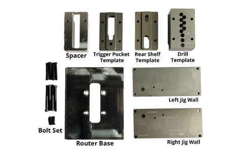 Easy Jig (80% Lower Jig) Replacement Parts