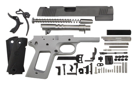 "9mm / 5"" Government / Bead Blasted 1911 Build Kit"