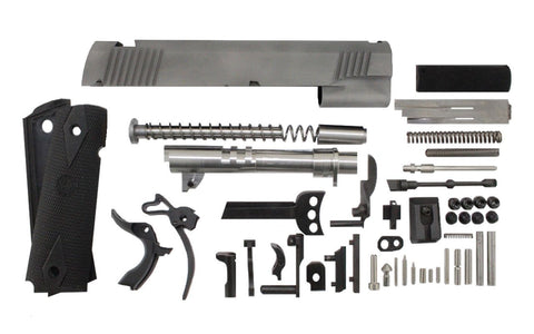 "9mm / 5"" Government Bead Blasted Slide 1911 Parts Kit"