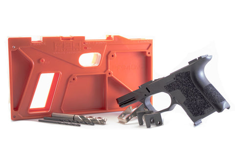 PF940SC 80% Pistol Frame and Jig Kit (Glock 26/27)