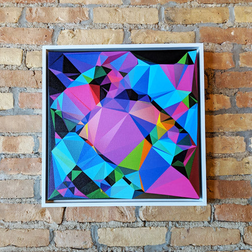 Fancy Cube (Canvas Print)
