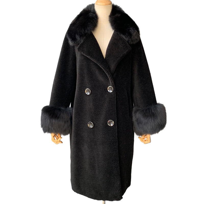 """Kennedy"" Wool Trench Coats"