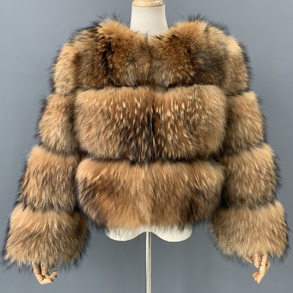 """Rachel"" Coon Fur Jacket"