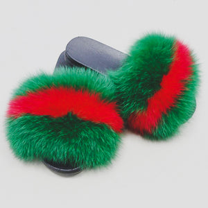Furlettes Deluxe Green/Red