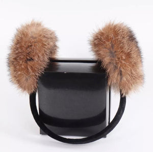 Rabbit Fur Ear Cuffs