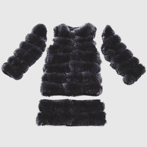 """Ash Transformer"" Fox Fur Coat"