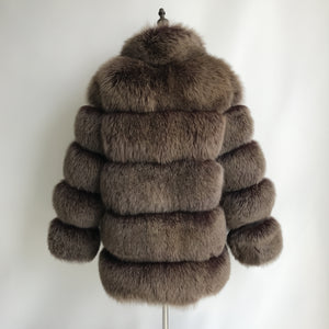 """Brown Lisa"" Coat"