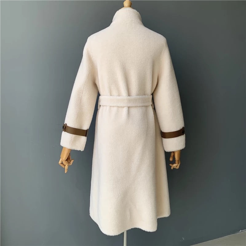 Cream Cara Shearling