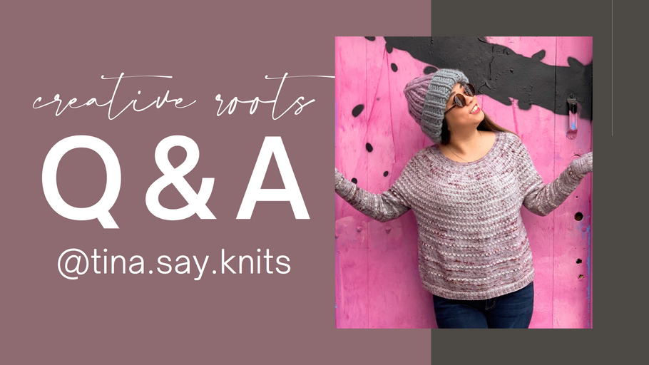 Creative Roots Challenge Week 4 - Tina Tse Knits